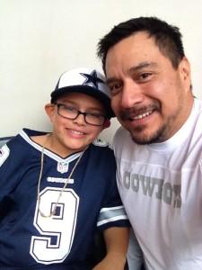 Braden & John (dad)